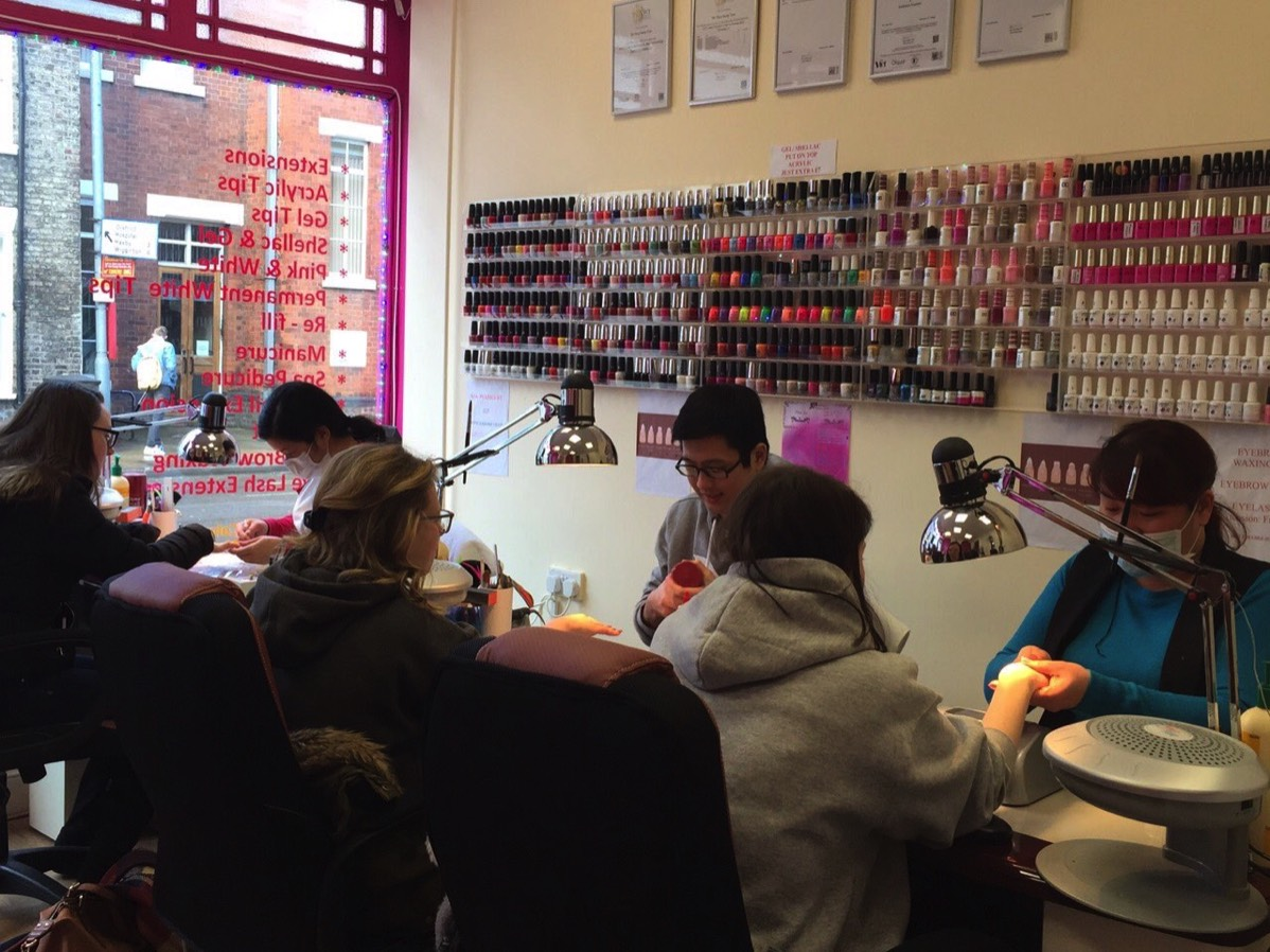 nail bar York - the salon